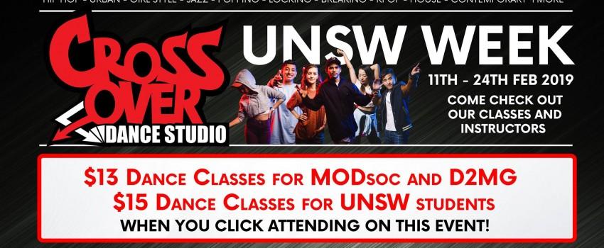 uni classes offer