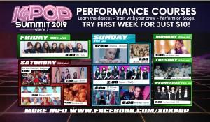 kpopsummit2 2019 performance courses